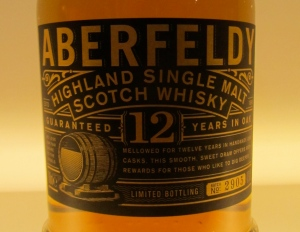 Aberfeldy 12 year old Single Malt Female