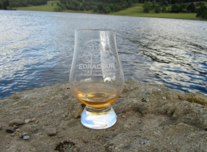 Whisky Glass Loch Tummel www.singlemaltfemale.co.uk